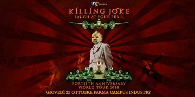 Killing Joke @Campus Industry – Parma, 25 ottobre 2018