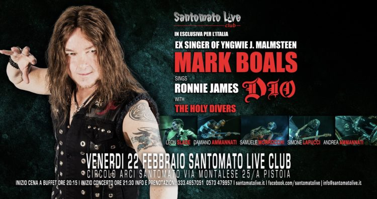 Mark Boals live @ Santomato Live Club, Pistoia