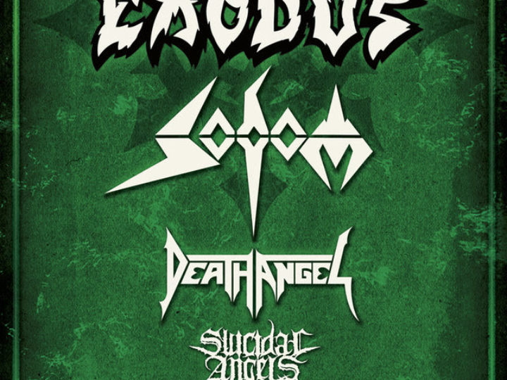 Headbangers Ball Tour w/Exodus + Sodom + Death Angel + Suicidal Angels @Phenomenon – Fontaneto d'Agogna (NO), 14 dicembre 2018