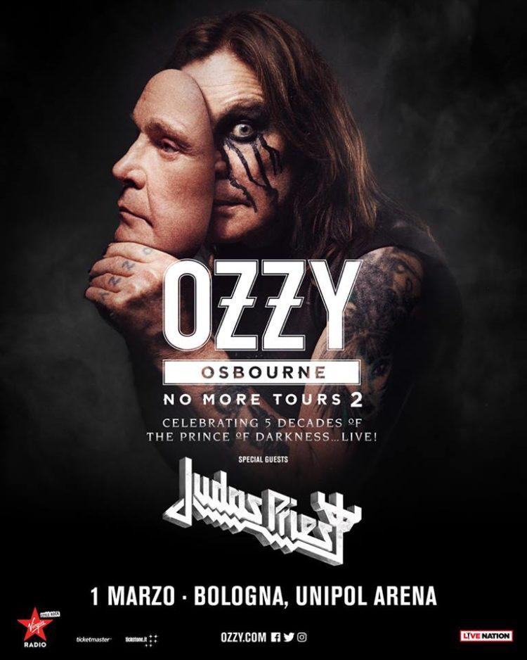 OZZY OSBOURNE + JUDAS PRIEST @ Unipol Arena, Casalecchio di Reno  ( BO)