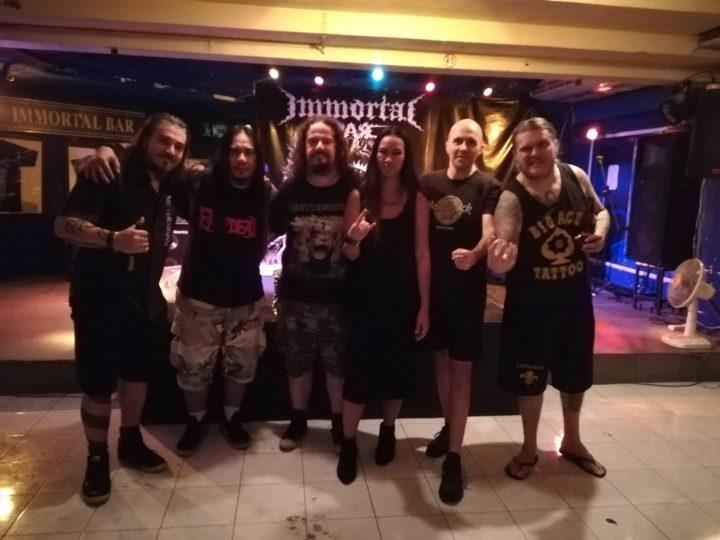 Methedras, diario del tour asiatico in esclusiva su Metal Hammer