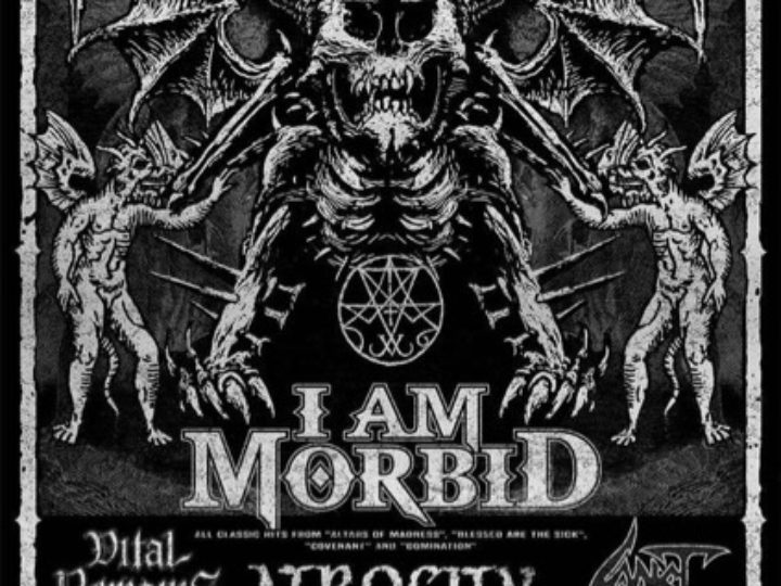 Morbidfest 2019, annunciati I Am Morbid, Atrocity, Vital Remains, Sadist per tutta l'Europa con una data in Italia