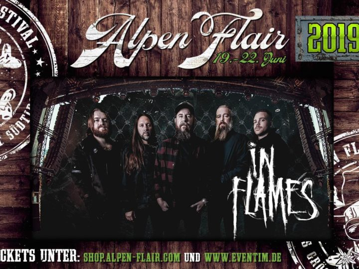 Alpen Flair 2019, annunciati gli In Flames