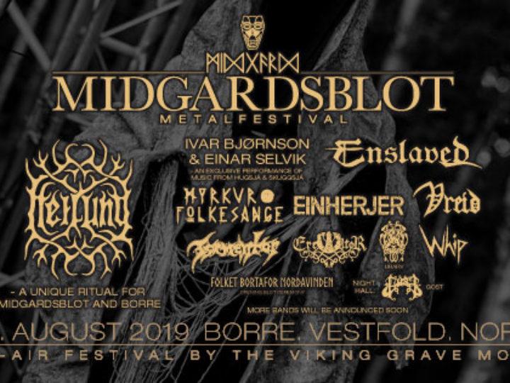 Midgardsblot 2019, i primi fan filmed video di Deicide, Vreid, Enslaved, Einherjer e la Unicorn Race