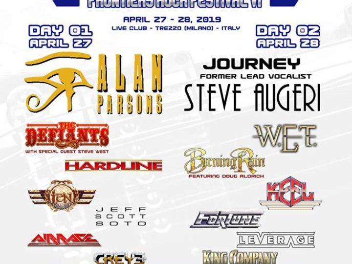 Frontiers Rock Festival 2019, i dettagli della sesta edizione