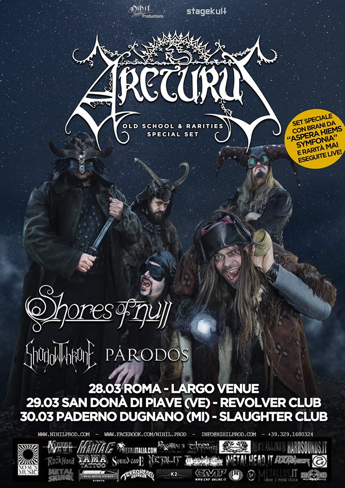 ARCTURUS + guests @ Largo Venue, Roma