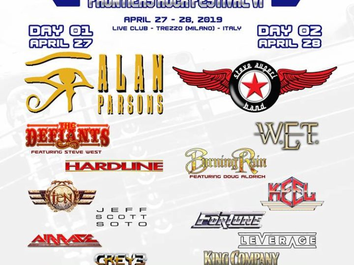 Frontiers Rock Festival 2019