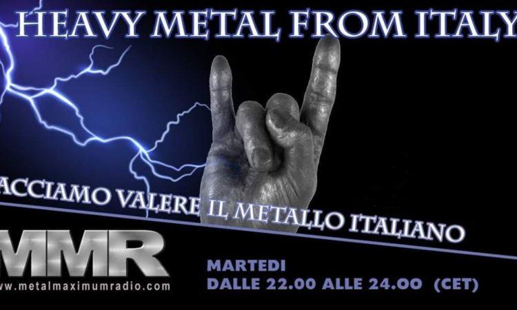 Radio FVIMI – la voce di Facciamo Valere il Metallo Italiano, il programma della puntata di Martedì 23 Luglio