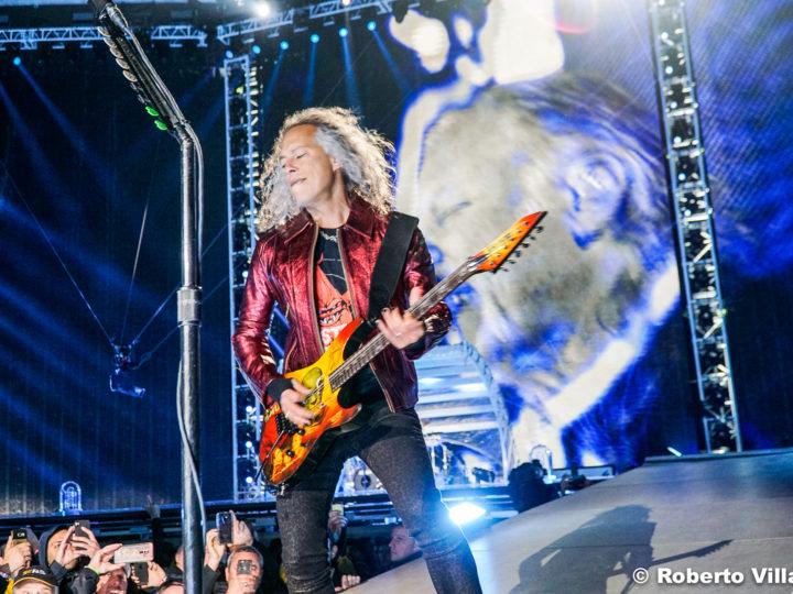 Metallica, Kirk Hammett a lavoro su un progetto con Peter Green dei Fleetwood Mac