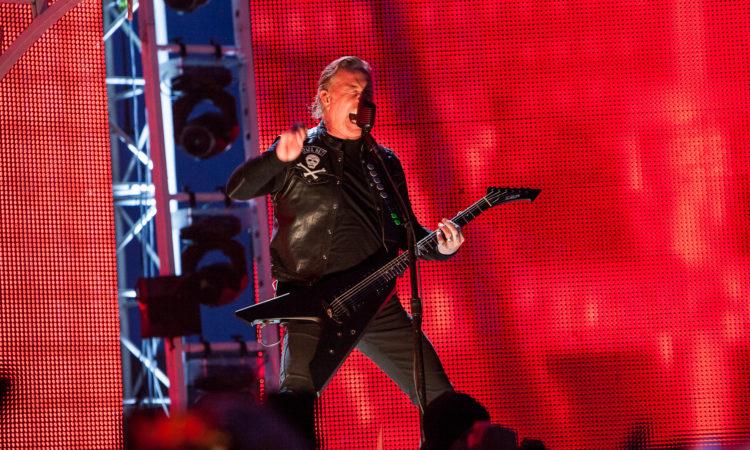 Metallica, guarda il breve live al 'The Howard Stern Show'