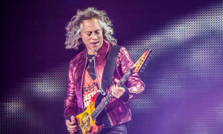 Metallica, Hammett e Trujillo coverizzano classici durante un concerto in Canada