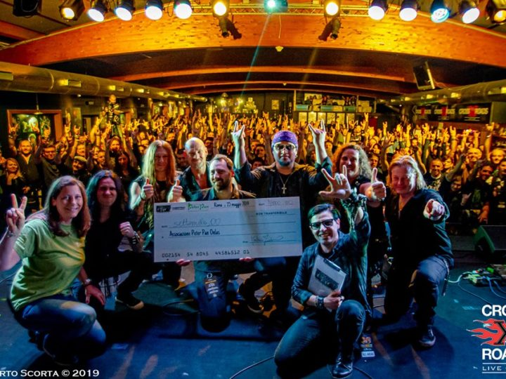 Metal For Kids. United! All-Star Charity Jam, raccolti 7.000 euro, il video report