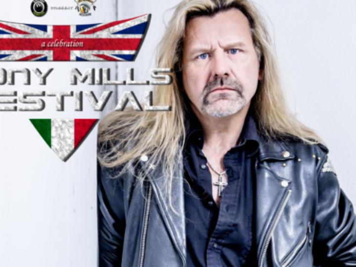Tony Mills Festival: la line up ufficiale e una campagna di crowdfunding