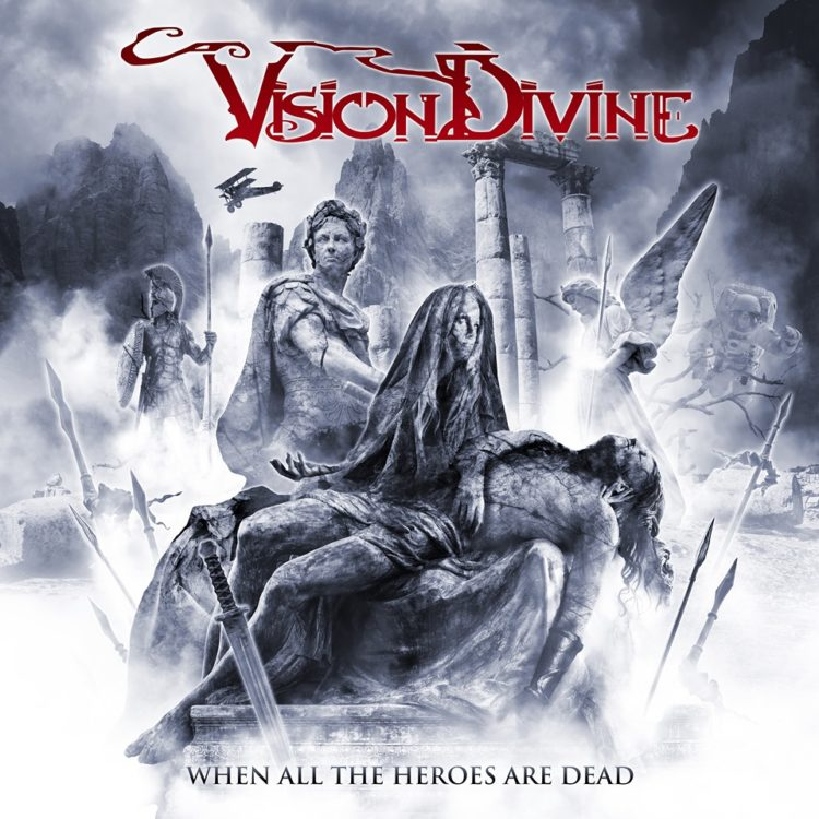 Visione Divine – anteprima in studio del nuovo 'When All The Heroes Are Dead'