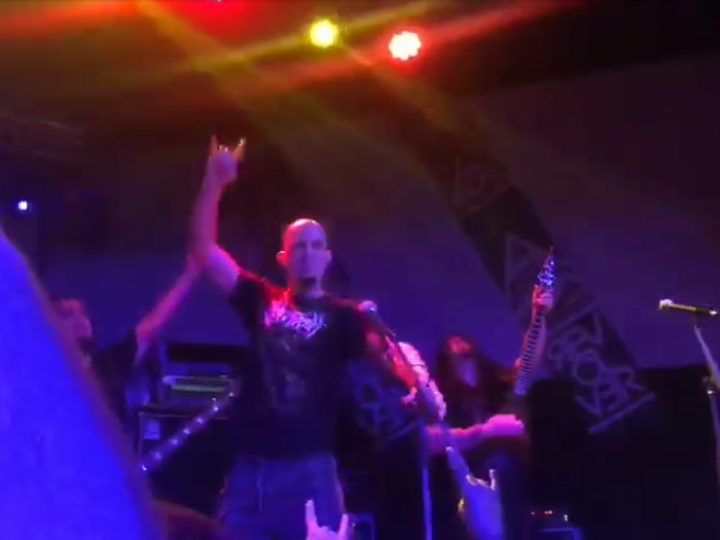 Nile, Jonathan Garofoli (Azrath-11) sul palco a San Donà per 'Black Seeds Of Vengeance'