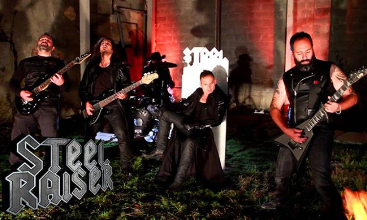 Steel Raiser, la band è entrata nel roster Morrigan Promotion
