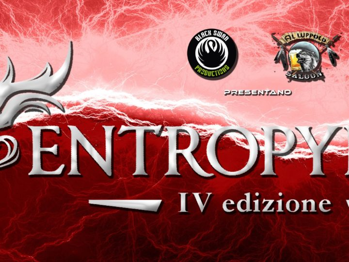 Entropy Fest IV, ecco le band in gara