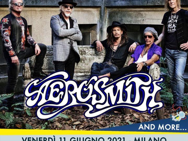 Aerosmith @Mind Milano Innovation Disctrict – Milano, 11 giugno 2021