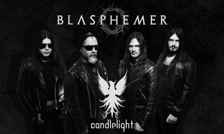 Blasphemer, firma con Candlelight Records e il video di 'The Deposition'