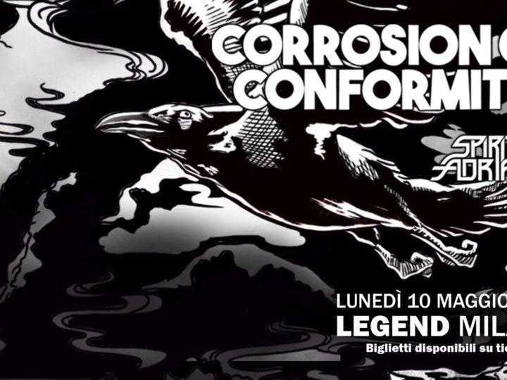 Corrosion Of Conformity @Legend Club – Milano , 10 maggio 2021