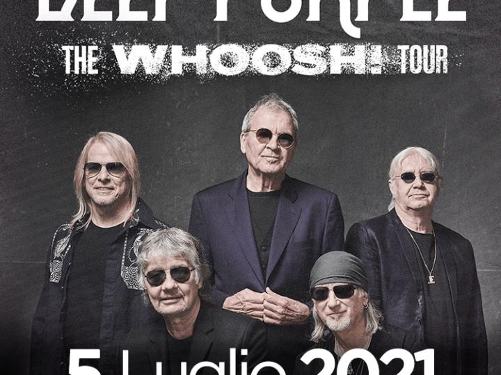 Deep Purple @Sonic Park c/o Arena Parco Nord – Bologna, 05 luglio 2021
