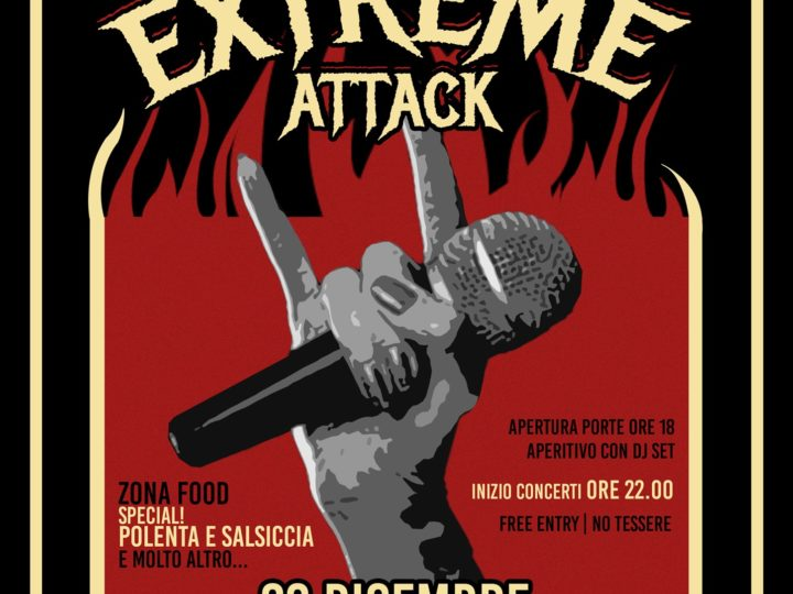 Apocalypse Extreme Agency, Karmian e Browbeat al Gasoline Road Bar di Lentigione (RE)