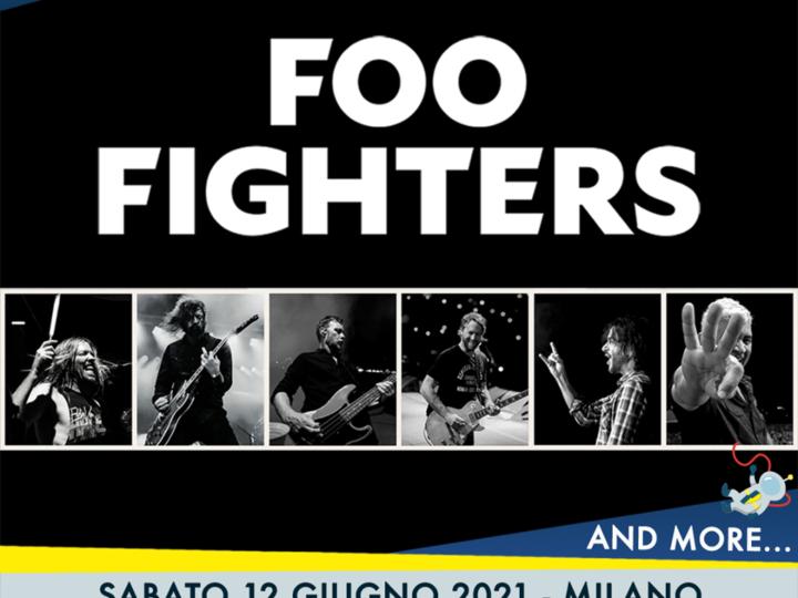 Foo Fighters @Area Expo – Milano, 12 giugno 2021