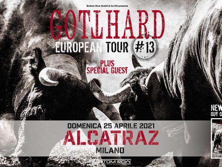 Gotthard + Guest @Alcatraz – Milano, 25 aprile 2021 ( ANNULLATO )