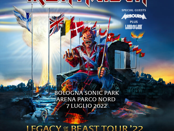 Iron Maiden + Airbourne + Lord Of The Lost  @Sonic Park c/o Arena Parco Nord – Bologna, 07 luglio 2022