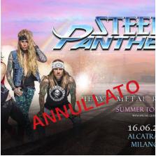 STEEL PANTHER @ Alcatraz – Milano , 16 giugno 2020