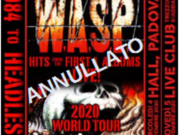W.A.S.P. @Hall – Padova , 04 novembre 2020