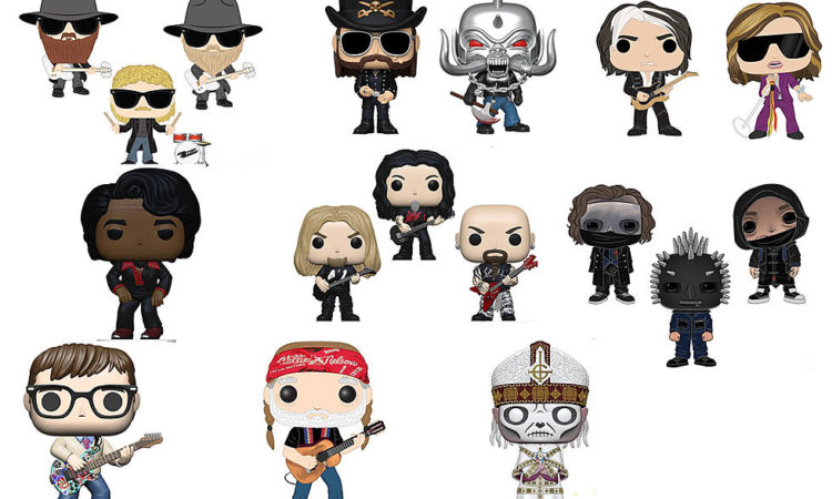Funko Pop!, in arrivo le action figure di Slayer, Motörhead, Ghost, ZZ Top e Slipknot