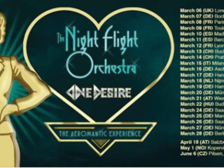 The Night Flight Orchestra + One Desire @ Legend Club – Milano, 15 marzo 2020