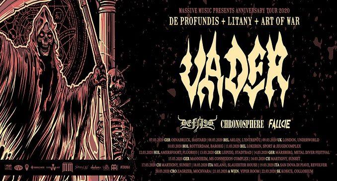 Vader (Anniversary Tour) + Defiled + Chronosphere + Fallcie @Revolver Club, San Donà di Piave (Ve), 19 marzo 2020