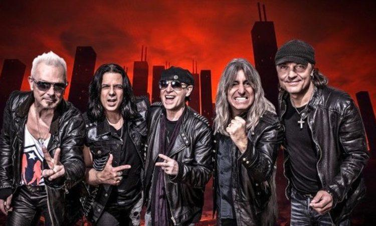 Scorpions, in uscita il nuovo singolo 'Sign Of Hope'