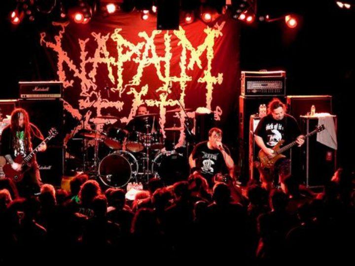 Napalm Death, ristampe di cinque album