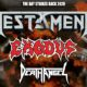 The Bay Strikes Back Tour, cancellato il concerto di Testament, Exodus e Death Angel al Live di Trezzo