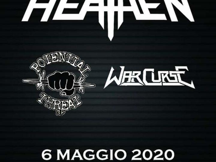 Heathen+Guest @Slaughter – Club Paderno Dugnano (MI), 6 maggio 2020