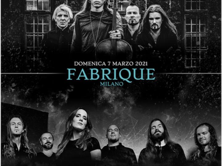 Epica + Apocalyptica @Fabrique – Milano, 07 marzo 2021