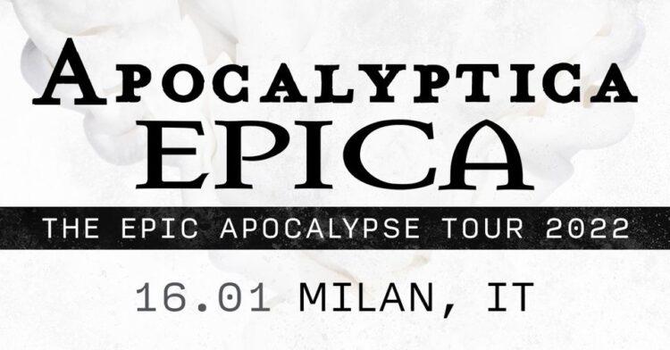 Epica + Apocalyptica @Fabrique – Milano, 16 gennaio 2022