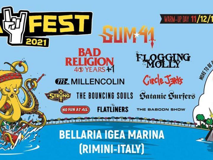 Bay Fest 2021 – Bellaria Igea Marina (Rn), 11,12,13,14 agosto 2021