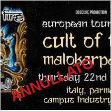 Cult of Fire + Malokarpatan @Campus Industry Music – Parma, 22 ottobre 2020
