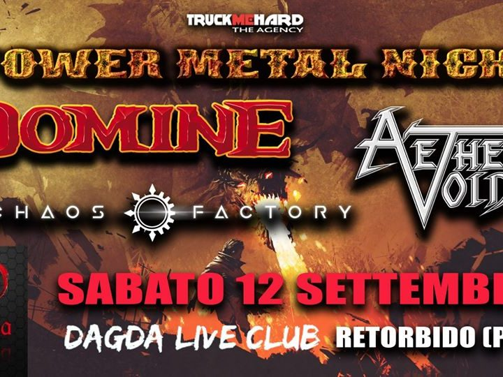 Domine + more @Dagda Live Club – Retorbido (Pv), 12 settembre 2020
