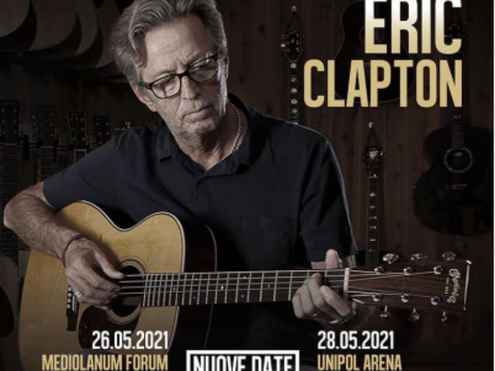 Eric Clapton @ Unipol Arena – Casalecchio di Reno (Bo), 28 maggio 2021