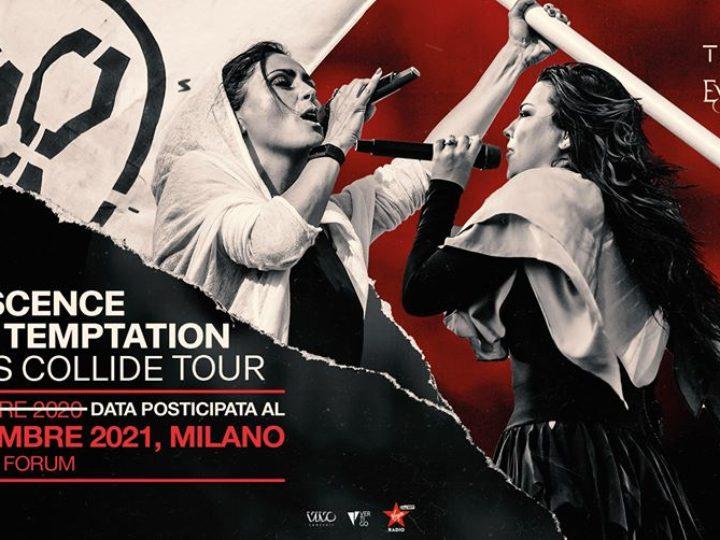 Evanescence + Within Temptation @Mediolanum Forum – Assago (Mi), 09 settembre 2021