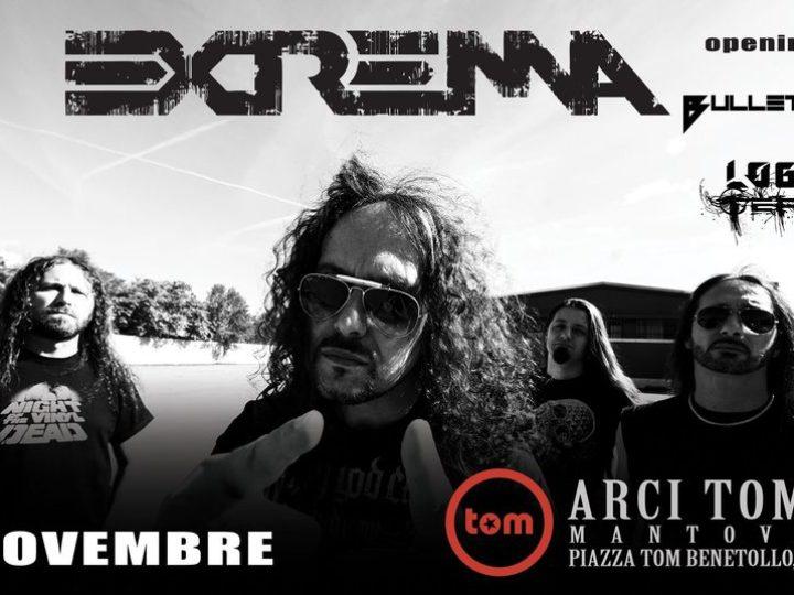 Extrema + guests @Arci Tom – Mantova, 07 novembre 2020