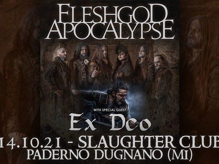 Fleshgod Apocalypse + Ex Deo @Slaughter Club – Paderno Dugnano (Mi), 14 ottobre 2021