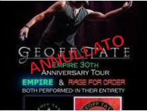 Geoff Tate @Legend Club – Milano, 03 aprile 2020