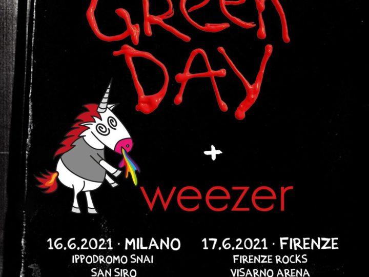 Green Day + Weezer @Ippodromo Snai San Siro – Milano, 16 giugno 2021