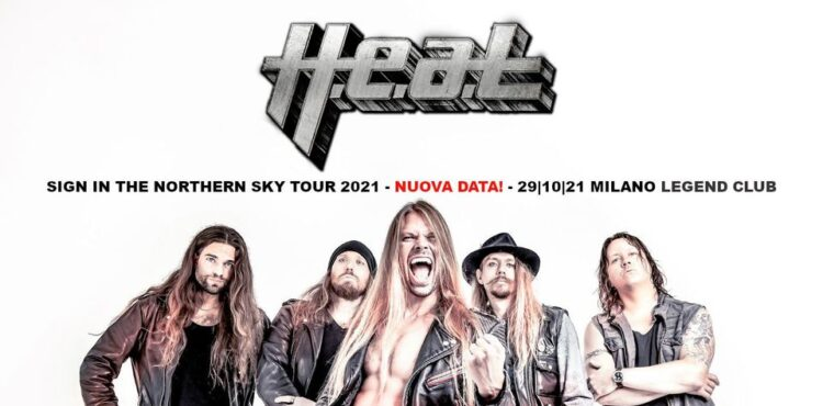 H.E.A.T @Legend Club – Milano, 29 ottobre 2021